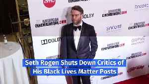Seth Rogen Hits Back at Racists on Instagram [Video]